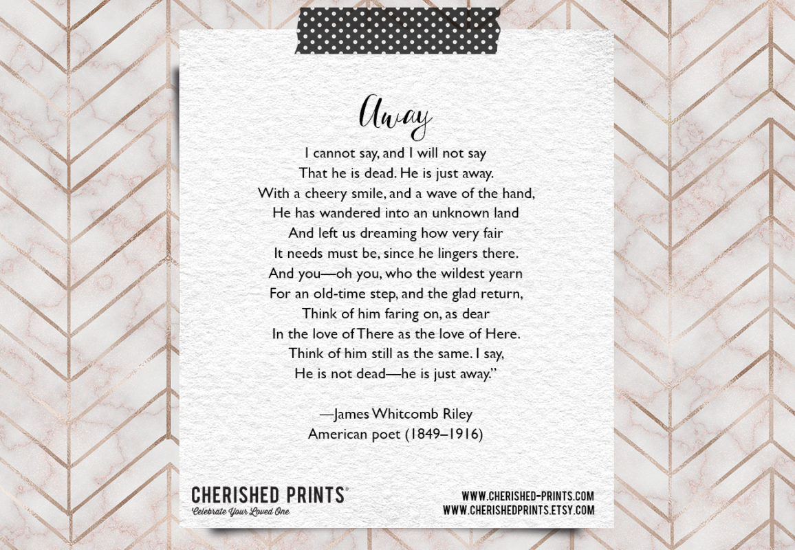 Away - James Whitcomb Riley