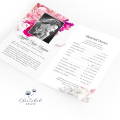 Beautiful Soft Peonies Bifold Program
