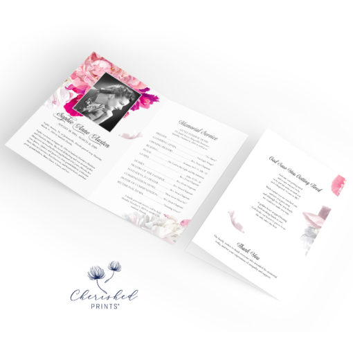 Beautiful Soft Peonies Folder