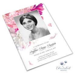 Soft Peonies Program Booklet cover