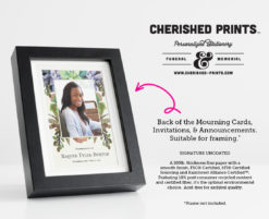 Cherished Prints Succulents Announcements