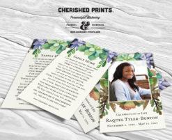 Cherished Prints Succulents Prayer Cards