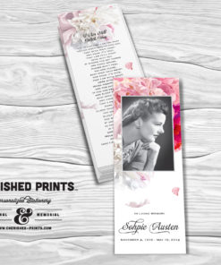 Beautiful Soft Peonies Bookmark