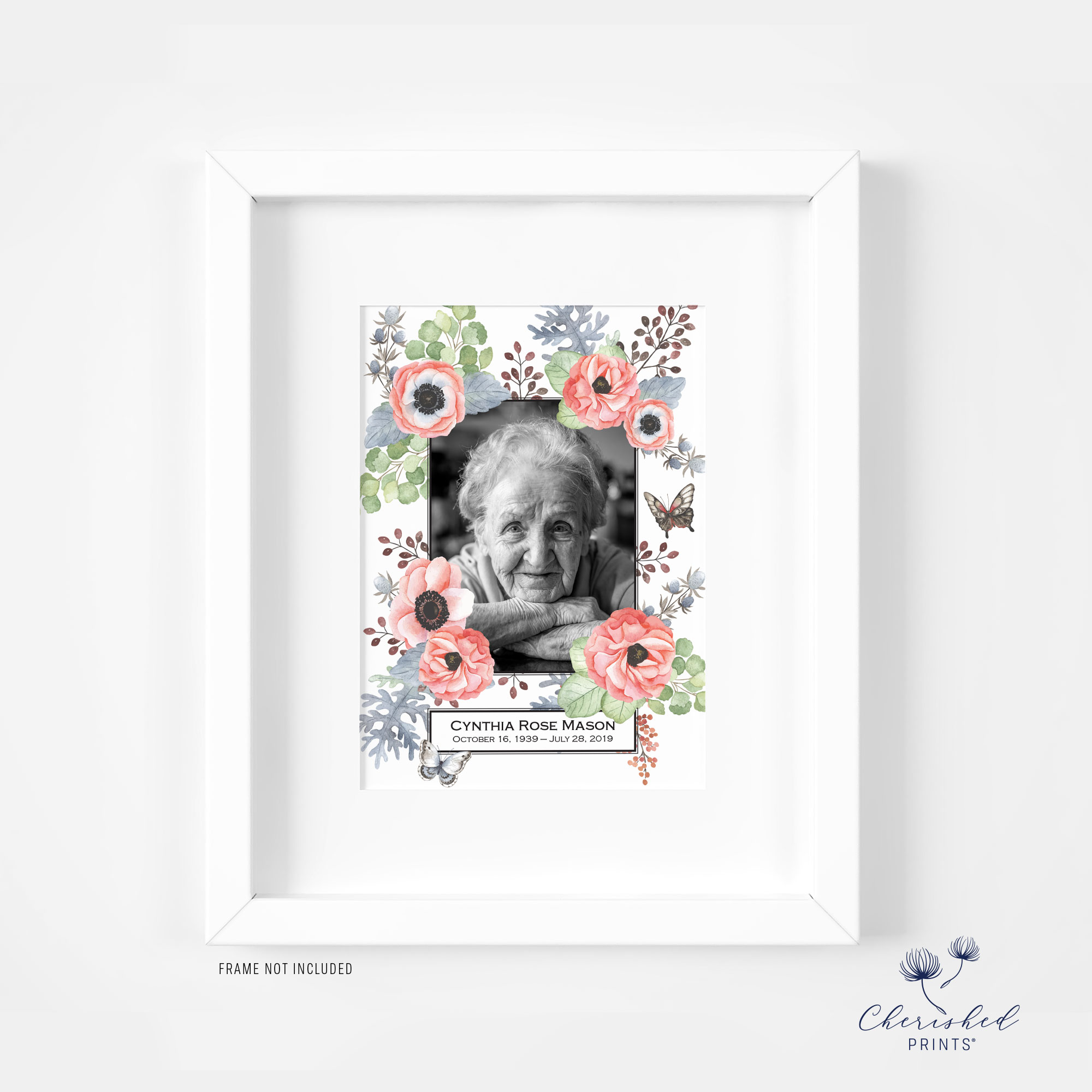 Framed Anemones Announcement