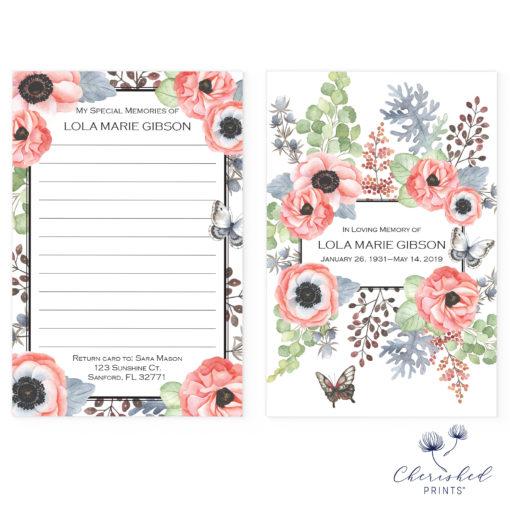 Anemones Memory Card