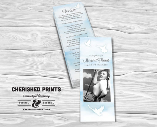 Heavenly Clouds Bookmarks