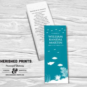 Coral Reef Bookmark
