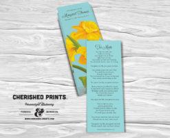 Daffodils Bookmark