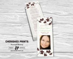 Orchid Bookmark