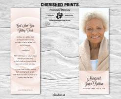 Pink Rose-Bookmark