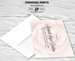 PinkRose-Thank You Card