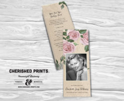 Purple Roses Bookmark