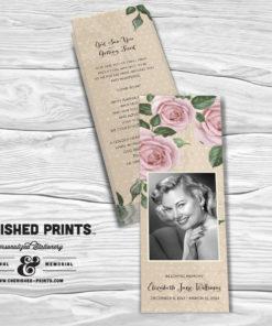 Purple Roses Bookmark