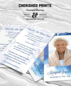 Seashells Prayer Card