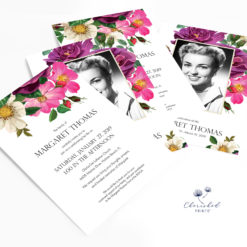 Spring Flowers Invitation grouping