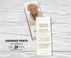 White Rose Bookmark