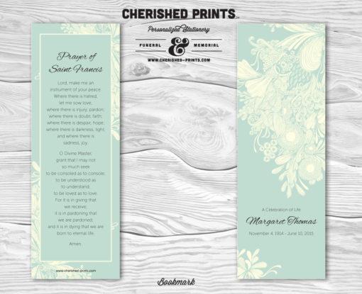 Chrysanthemum Bookmark