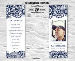 Indian Block Print Bookmark
