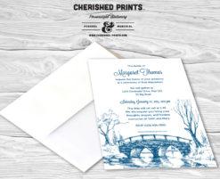 Bridge Funeral Announcement
