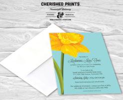 Daffodils Invitation