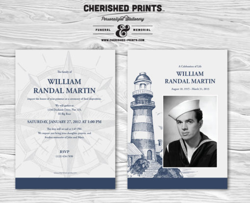 Lighthouse Invitation