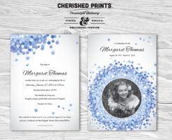 Forget-Me-Not Invitation