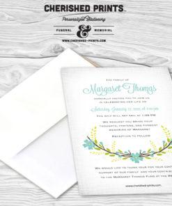 Victorian Floral Invitation