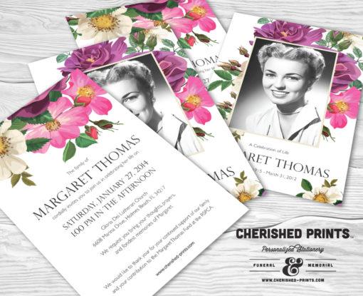 Spring Flowers Invitation