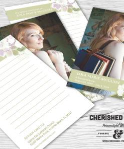 Hydrangea Memory Card