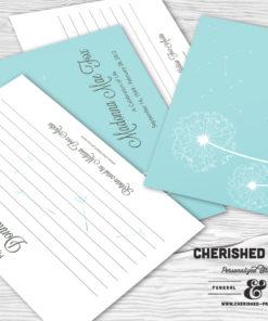 Dandelion Memory Card