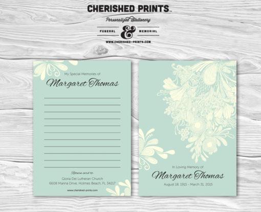 Chrysanthemum Memory Card
