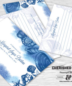 Seashells Memory Card