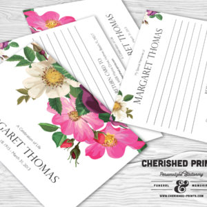 Spring Flowers Memory Card