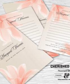 Lilies Memory Card