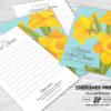 Daffodils Memory Card