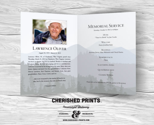 mountains majesty celebration of life program