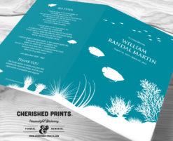 Coral Reef Funeral Programs