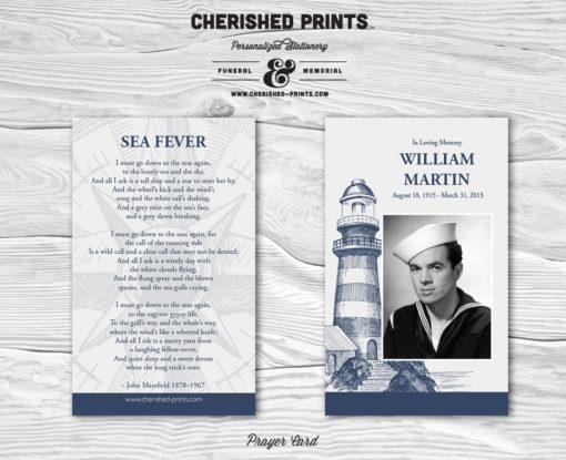 Lighthouse Prayer Card
