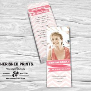Ribbons Bookmark