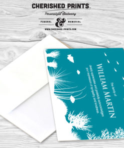 Coral Reef Thank You Cards
