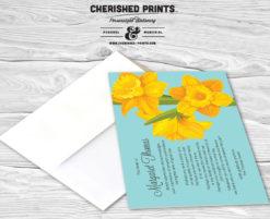 Daffodils Thank You Card