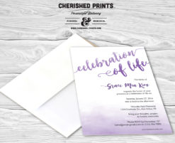 Lovely-Watercolor Script-Invitation
