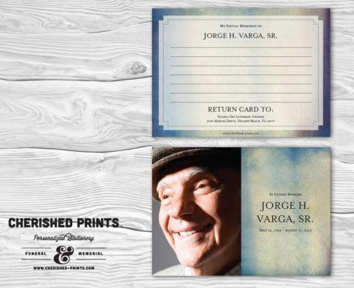 Modern Watercolor Texture Memory Card