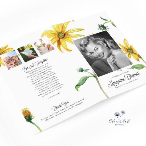 Yellow Daisies Program Cover