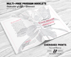 Magnolia Multi-Page Program Booklet