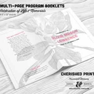 Magnolia Multi-Page Program Booklet