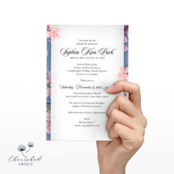 Cherry Blossom Sakura Invitation