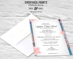 Cherry Blossoms Invitation