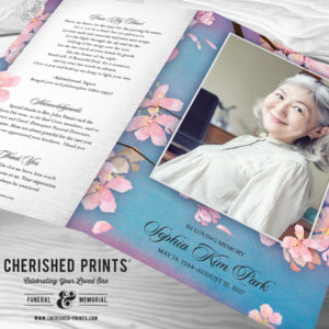 Premium Funeral Program Designs Programs