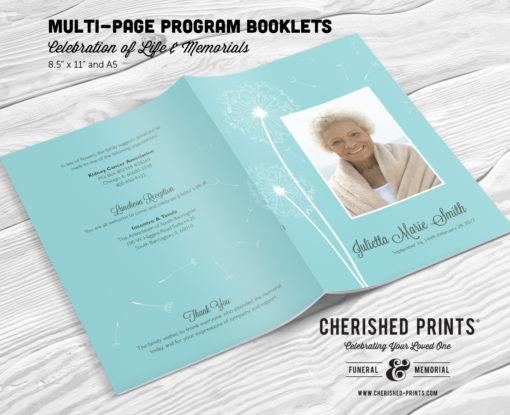 Dandelion-Program-Multi-Page-Booklet-Front-Back-Cover